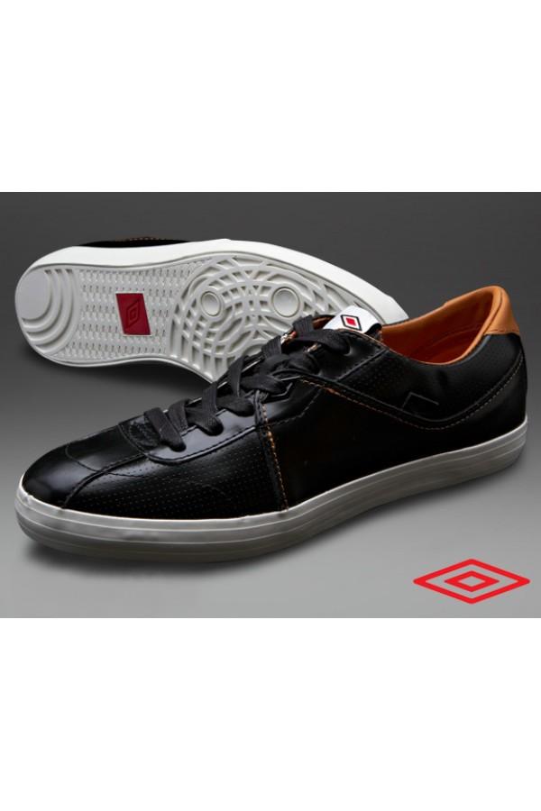 Umbro Terrace Plus - мъжки кожени обувки - черно