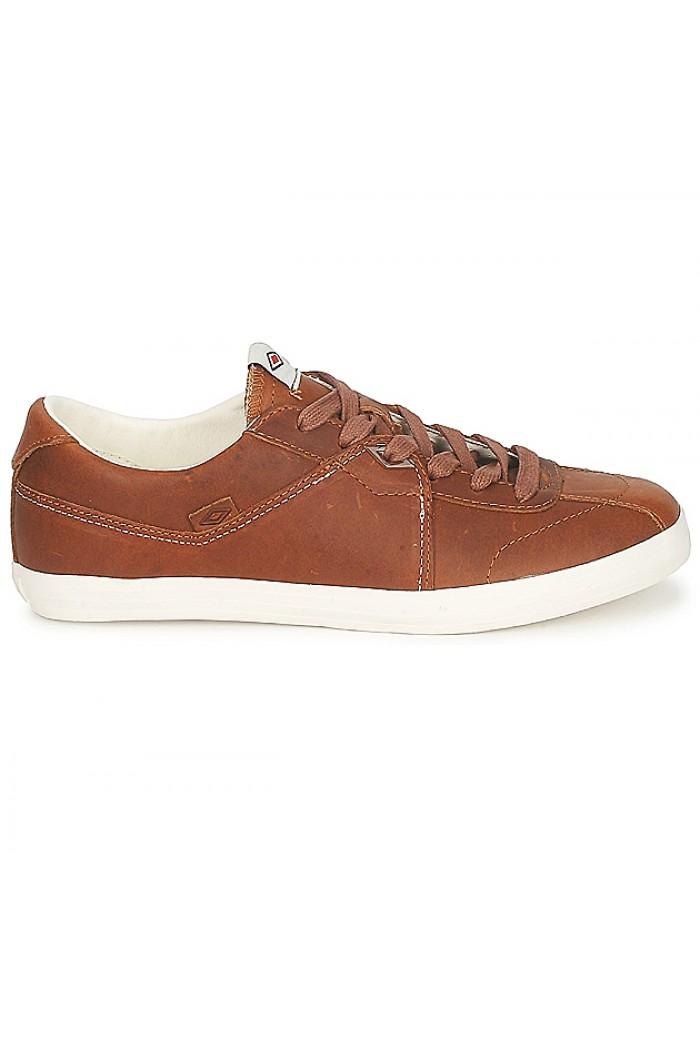 Umbro Terrace Plus - мъжки кожени обувки - кафяво